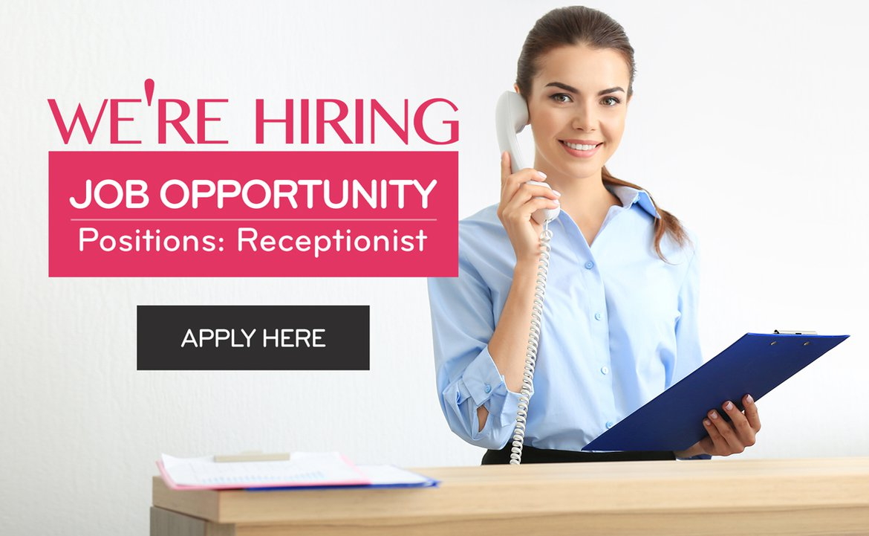 Receptionist Job Position