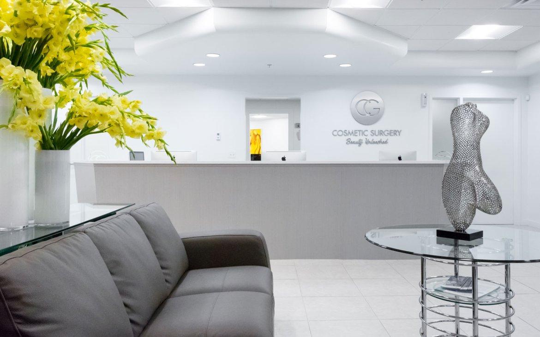 Cosmetic Surgery Center Reception Area