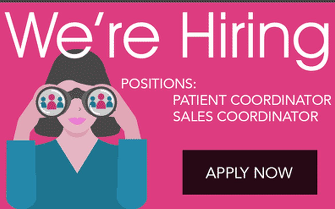 cosmetic surgery office jobs